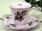 05 May Catherine Cup & Saucer