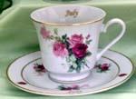 07 July Catherine Cup & Saucer