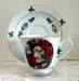392-126S - Christmas Santa Catherine Cup & Saucer