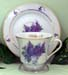392-156DA - Daughter Lilac Bouquet Catherine Cup & Saucer