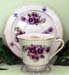 392-166FR - Friend Pansy Catherine Cup & Saucer