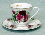 392-185MO - Mother Summer Rose Catherine Cup & Saucer
