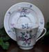 392-231 - Bouquet of Pansies Catherine Cup & Saucer