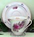 392-233SIS - Sister Rose & Heather Catherine Cup & Saucer