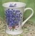515-139 - Blue Forget Me Not 12oz Latte Mug