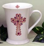 515-148CC - Celtic Cross 12oz Latte Mug