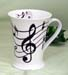 515-206 - Music Notes 12oz Latte Mug
