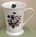 515-216 - Daisies & Violets 12oz Latte Mug