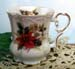 520-126P - Christmas Poinsettia Victorian Mug