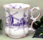 520-200BW - Blue Windmill Victorian Mug