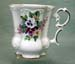520-231 - Bouquet of Pansies Victorian Mug