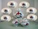 540-126C - Christmas Cardinal 15pc Tea Set