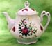 562-126P1 - Christmas Candle Ashley Teapot