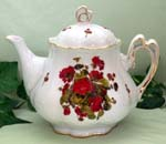 562-221 - Geranium Ashley Teapot