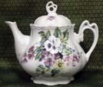562-231 - Bouquet of Pansies Ashley Teapot