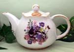 565-122 - Cats 3C Round Teapot