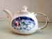 565-126SP - Christmas Snow People 3C Round Teapot