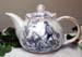 565-200BKR - Black Romance 3C Round Teapot