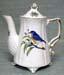 567-110BB - Bluebird 2C Antique Teapot