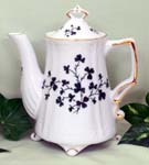 567-148 - Shamrock 2C Antique Teapot