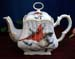 570-126CA - Christmas Cardinal 8C Square Teapot