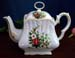 570-126P1 - Christmas Candle 8C Square Teapot