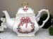 570-126RW - Christmas Ribbon Wreath 8C Square Teapot
