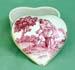 620-200PKR - Pink Romance Toile Heart Box