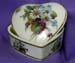 620-216S - Daisies & Violets Spray Heart Box