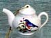 676-110BB - Bluebird Teapot Ornament