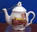 676-119 - American Angel Teapot Ornament