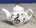 676-206 - Music Notes Teapot Ornament