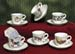 677-126 - Christmas Cup & Saucer Ornament Set of 6