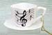 677-206 - Music Notes Cup & Saucer Ornament