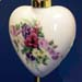 678-229 - Bouquet of Flowers Heart Ornament