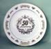 "712-050 - 50th Anniversary 12"" Plate"