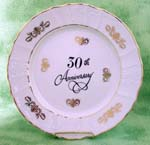 "30th Anniversary 10"" Plate"