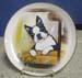 """714-090 - Boston Terrier 8"""" Plate"""