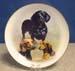 """714-091 - Dachshund 8"""" Plate"""