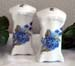 742-139 - Blue FMN Victorian Salt & Pepper
