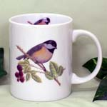MUG-110C - Chickadee Plain Mug