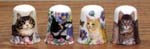T230 - Cats Thimble - 4 Assorted