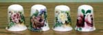 T242 - Roses Thimble - 4 Assorted