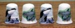 T270 - Whale & Dolphin Thimble - 4 Assorted