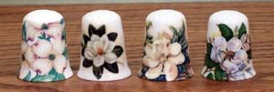 Southern Charm Thimble - 4 Assorted
