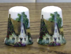 Cottage Thimble - Set of 2